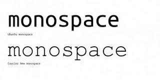 mono_monospaces