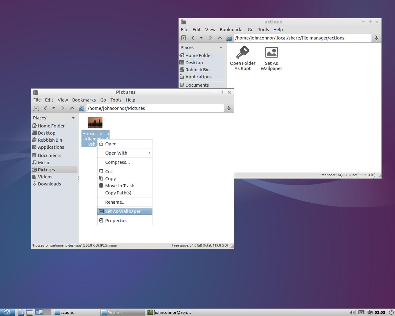 pcmanfm | Lubuntu