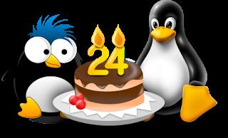 happy 24th birthday linux lubuntu